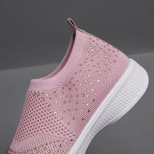Load image into Gallery viewer, All Season Rhinestone Elastic Cloth Casual Sneakers