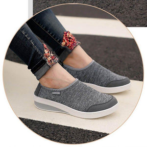 Breathable Sports Shoes All Season Slip-on Sneakers