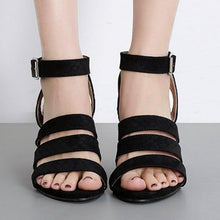 Load image into Gallery viewer, Women Comfortable Peep Toe Wedge Sandals