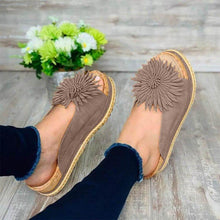 Load image into Gallery viewer, Women Elegant Flower Slip On Sandals