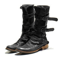 Load image into Gallery viewer, Women's Vintage Low Heel Boots