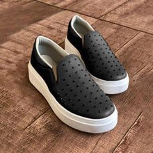 Load image into Gallery viewer, Woman Platform Rivet All Season Slip-on Loafers Sneakers