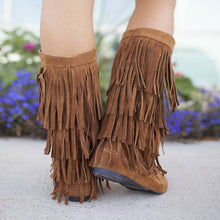 Load image into Gallery viewer, Tassel Leisure Daily Boots