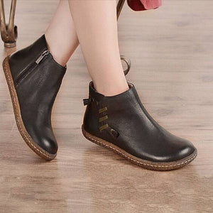 Flat Heel Daily Boots Loafers
