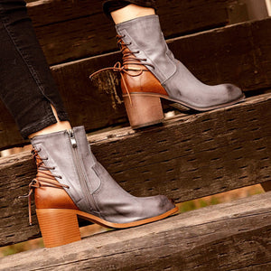 Taupe Pu Winter Boots