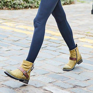 Women Causal Zipper Boots