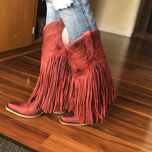 Tassel Casual Leather Boots