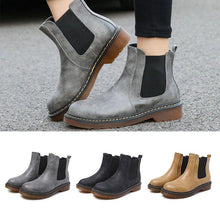 Load image into Gallery viewer, Women Chelsea Booties Casual Martin Ankle Plus Size Shoes