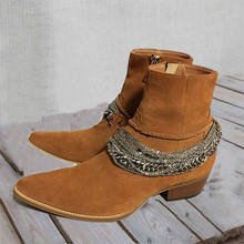 Load image into Gallery viewer, All Season Chain Suede Boots