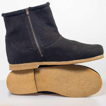 Load image into Gallery viewer, Women Winter Zipper Canvas Ankle Boots