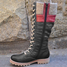 Load image into Gallery viewer, Women's casual lace-up boots
