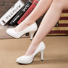 Load image into Gallery viewer, Elegant Slim Heel PU Wedding Party Shoes