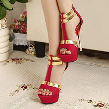 Load image into Gallery viewer, Sexy Fashion Open Toe Sandals Shoes