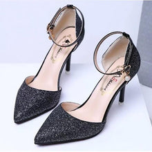 Load image into Gallery viewer, Lovely Elegant Pointed Toe Sandals Lady Shoes