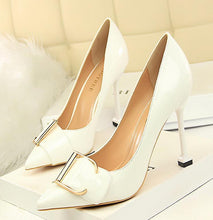 Load image into Gallery viewer, Fashion Pure Color Slim Heel Shoes