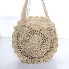 Load image into Gallery viewer, ?2018 Must Have Flower Round Shoulder Bag