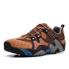 Load image into Gallery viewer, Mens Leather Hiking Shoes