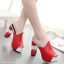Load image into Gallery viewer, High Heel Sandals Platform Women's Shoes