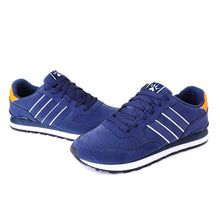 Load image into Gallery viewer, Men Synthetic Comfortable Sole Lace Up Sports Casual Shoes
