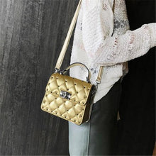 Load image into Gallery viewer, Chic Casual Leather Rectangle Rivet One Shoulder Hand Bag