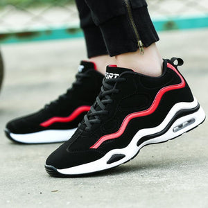 Fashion Casual Color Block Sport Basketball Shoes