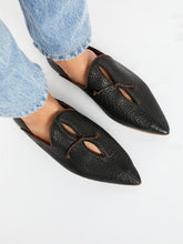 Load image into Gallery viewer, Women Vintage Slip On Loafers Low Heel PU Leather Loafers