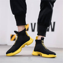 Load image into Gallery viewer, Men's Fashion Versatile Comfortable High-Top Sneakers