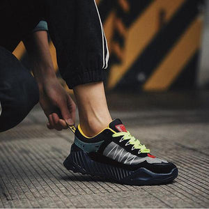 Men's Summer Breathable Casual Colorblock Sneakers
