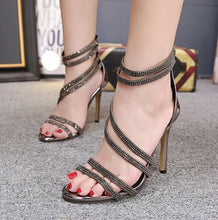 Load image into Gallery viewer, Flash Drill Open Toe Sandals