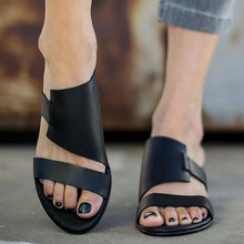 Load image into Gallery viewer, Women PU Slippers Casual Comfort Plus Size Shoes