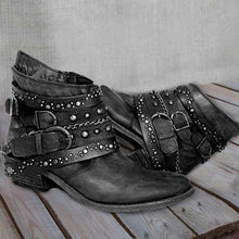 Load image into Gallery viewer, Pu Rivet Summer Boots