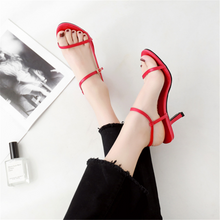 Load image into Gallery viewer, Fashion Open Toe High Heel Sandals