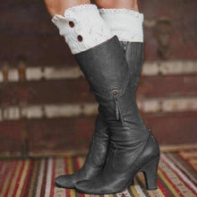Load image into Gallery viewer, All Season Women Elegant Mid Heel Boots