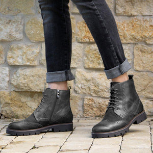 Women Casual Daily Oxford Boots