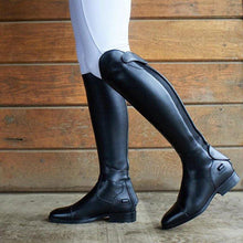 Load image into Gallery viewer, Women's leather riding boots