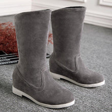 Load image into Gallery viewer, Women's Round Toe Casual Slip-On Boots