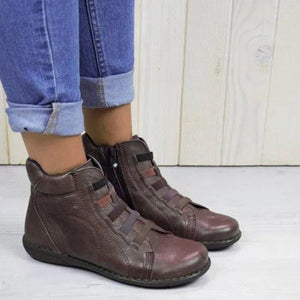 Daily Casual Zipper Ankle Boots for Women