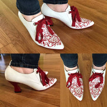 Load image into Gallery viewer, Women Comfy Vintage Slip-on Pump Shoes