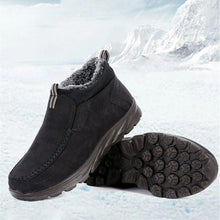 Load image into Gallery viewer, Menico Large Size Men Suede Comfy Warm Plush Lining Ankle Boots