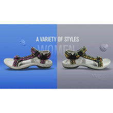 Load image into Gallery viewer, Summer Sandals Flat With Soft Bottom National Contrast Color Embroidery Sandals