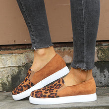 Load image into Gallery viewer, Canvas Women's Platform Comfortable Leopard Single Shoes