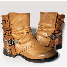 Load image into Gallery viewer, Women Casual Chunky Heel Boots