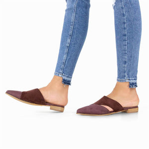 Fashion Retro Versatile Pointed Flat Shoes