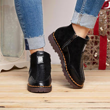 Load image into Gallery viewer, Women Casual Ankle Boots Zipper Shoes