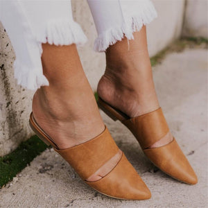 Women's Versatile Simple Pointed Flat Shoes