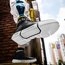 Load image into Gallery viewer, Male non-slip sports high top shoes