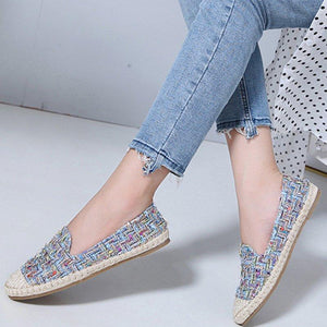 Bohemian Flat Bottom Comfortable Fisherman Shoes