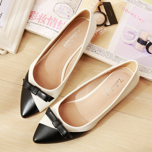 Girl's New Flats Lady Breathable Flat Heel Big Size Shoes Women Princess Shoes Fashion Ladies Flats Light Driving Loafers YX0025