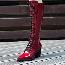 Load image into Gallery viewer, Women's motorcycle boots