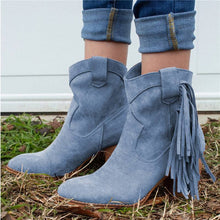 Load image into Gallery viewer, Women Casual Daily Faux Suede Ankle Boots